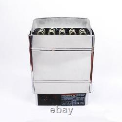 V0 Sauna Heater Stove 6KW 8KW 9KW Wet & Dry Stainless Steel Bult-in Controller