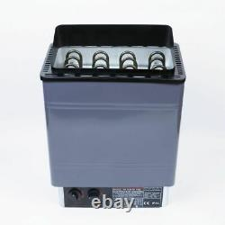 VI Sauna Heater Stove Wet / Dry Spa 6KW Internal Control Aluminum Panel