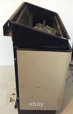 Vintage Rare Helo-factories Ltd Sauna Heater Stone Stove Model Ykaa7 With Stone