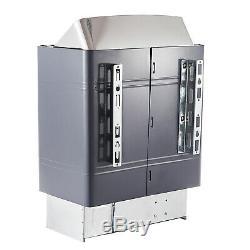 Wet & Dry Sauna Heater Stove Internal & External Control Stainless Steel