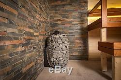 Wood Fired Design Sauna Heater, Steam Sauna Stove up to 17 kW WET/DRY