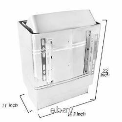 ZMM Sauna Heater, 9KW 240V Sauna Heater Stove Stainless Steel Dry Steam Bath