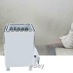 10,5 / 12/15 / 18kwelectric Vapeur En Acier Inoxydable Sauna Chauffage Poêle Extérieur Contro