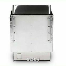 110v 304 En Acier Inoxydable De Qualité Sauna Sec Ou Humide Chauffe-poêle Spa Contrôleur Extérieur