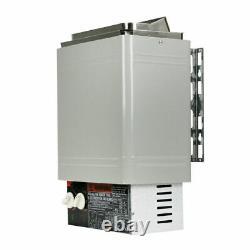 120v Sauna Heater Stove 2kw Dry Sauna Stove W Contrôle Interne Acier Inoxydable