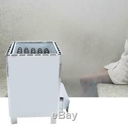 18kw Électrique Wet & Sauna Sec En Acier Inoxydable Chauffe-poêle Contrôle Externe 380v
