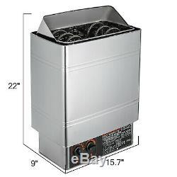 2/3/6 / 9kw Sauna Chauffage Poêle Interne Et Contrôle Externe Accueil Commercial
