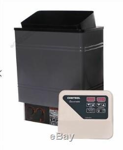 220 V 3 Kw Humide / Sec Électrique Sauna Chauffage Poêle Contrôle Externe Op