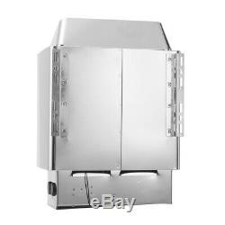 220v-380v 3k-9kw Sauna Chauffage Poêle À Sec Ou Humide En Acier Inoxydable Contrôle Externe