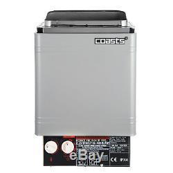 2kw 120v Contrôle Interne Poêle Électrique En Acier Inoxydable Pour Sauna