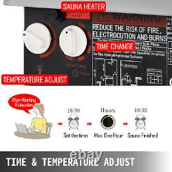 2kw 120v Sauna Heater Stove Dry Sauna Stove Contrôle Interne En Acier Inoxydable