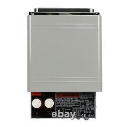 2kw 120v Sauna Heater Stove Dry Steam Bath Sauna Machine Pour Home Hotel Shower B