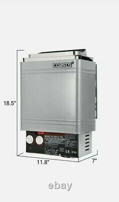2kw Wet & Dry Sauna Chauffage Poêle Interne / Contrôle Externe Accueil. Aucune Instruction