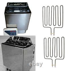 2x 3000w Elément De Chauffage Sauna Elément De Chauffage Inoxydable Chauffe-tubes