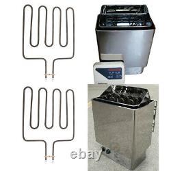 2x Élément Chauffant Pour Chauffage Sauna Sca Heater Spa Heater 2000w