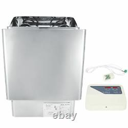 3kw 220v Stainless Steel Dry Sauna Heater Stove Spa Avec Contrôleur Externe