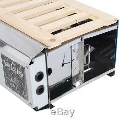3kw Acier Inoxydable Sauna Chauffage Chauffage Poêle Spa Avec Contrôleur Interne