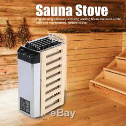 3kw Électrique Sauna Chauffage Poêle Sauna Spa Chauffage Avec Contrôleur Interne Nouveau