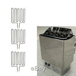 3pcs Réchauffement Élément Pour Chauffage Sauna Spa Sauna Monoboc Compatible Avec Sca