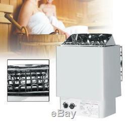 4,5 / 6 / 9kw Sauna Chauffage Poêle Wet & Dry De Contrôle Interne En Acier Inoxydable 220 V Spa