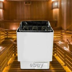 4.5kw En Acier Inoxydable Salle De Bains Chauffage Sauna Machine À Vapeur Chauffe-poêle