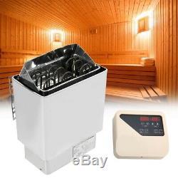 4.5kw Salle De Bain Chauffage Sauna Machine À Vapeur Poele Avec Contrôleur Interne