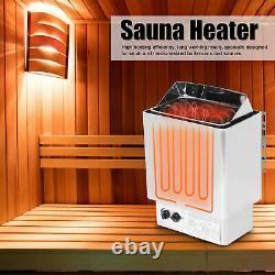 4.5kwith9.5kw Sauna En Acier Inoxydable Chauffe-poêle Pour La Maison Sauna Bain Douche Spa