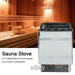 6 / 9kw Sauna Chauffage Cuisinière Protection Haute Température Commutateur Con4 Contrôleur