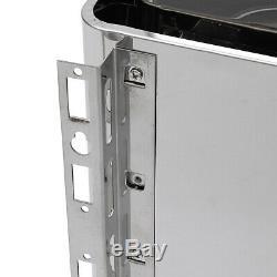 6kw 220 V Pro 3 Personne Wet & Sauna Sec Chauffage Poêle Spa Externe Contrôleur Numérique