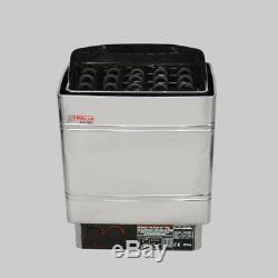 6kw 220v Poêle Électrique Pour Chauffage Extérieur De Sauna Avec Contrôle Extérieur Et Acier Inoxydable