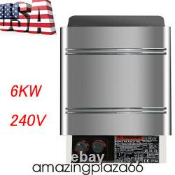 6kw 240v Sauna Heater Stove Dry Sauna Stove Contrôleur Interne En Acier Inoxydable