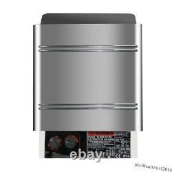 6kw 240v Sauna Heater Stove Dry Steam Bath Internal Controller F/ Home Spa Hôtel
