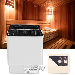 6kw En Acier Inoxydable Salle De Bains Chauffage De Contrôle Externe Sauna Poêle De Chauffage