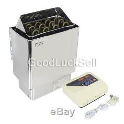 6kw Sauna Chauffage Poêle 220 V-380v Wet & Dry En Acier Inoxydable Avec Contrôle Externe
