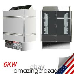 6kw Sauna Heater Stove Dry Sauna Stove Spa Internal Control Ups
