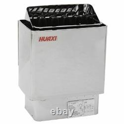9000w Electric Sauna Spa Heater Wet Dry Sauna Heater Outils Poêle En Acier Inoxydable