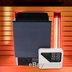 9kw 220v / 240v Électrique Sauna Spa Chauffage Poêle Numérique Intégré Con4 Controller