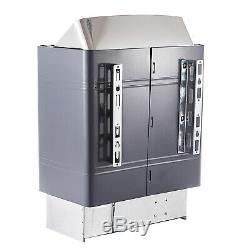 9kw Sauna Chauffage Poêle À Sec Sauna Poêle De Contrôle Interne En Alliage D'aluminium De Cas