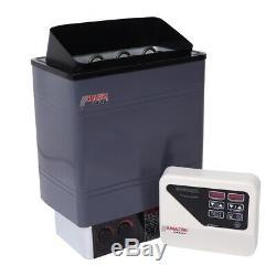 9kw Sauna Maison Chauffage Cuisinière Électrique Avec Le Contrôleur 220 / 240v Pour La Maison Spa Bath