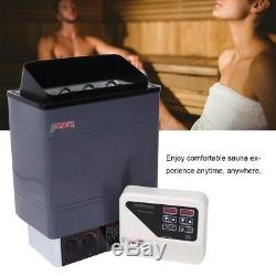 9kw Sauna Poele Bath & Home Spa Sauna Maison 220 V / 240 V En Acier Inoxydable
