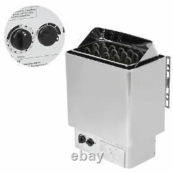 9kw Stainless Steel Sauna Stove Heating Room Salle De Bains Spa Ménage