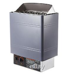 9kw Wet & Dry Sauna Chauffage Poêle De Contrôle Interne 220-240v De Montage Mural Chambre
