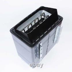 Asg Electric Sauna Heater Stove Spa 6kw 8kw 9kw Panneau D'aluminium De Contrôle Externe