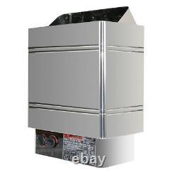 Ce 6kw 240v Sauna Heater Stove Dry Steam Bath Sauna Machine Internal Control États-unis