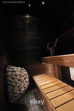 Chauffage À Sauna Électrique Huum Drop (4,5-9kw), Design Sauna Stove Wet/dry