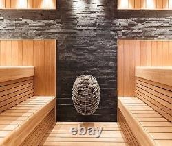Chauffage Sauna Électrique + Console De Commande Uku, Design Sauna Stove 4,5kw