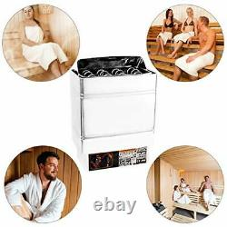 Chauffage Sauna Zmm, 9kw 240v Sauna Heater Stove Stainless Steel Dry Steam Bath