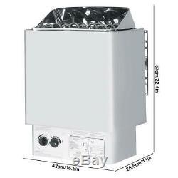 Contrôle Interne Du Poêle Électrique De Sauna En Acier Inoxydable Humide Et Sec De 9kw 220v