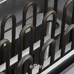 Contrôle Interne Intérieur Sec D'acier Inoxydable De Poêle De Chauffage De Station Thermale De Sauna Électrique Des Etats-unis 9kw