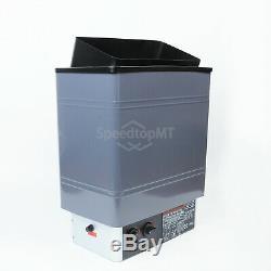 Contrôle Interne Spa En Aluminium De Peinture D'aluminium De Poêle De Chauffage Électrique De Sauna 9kw